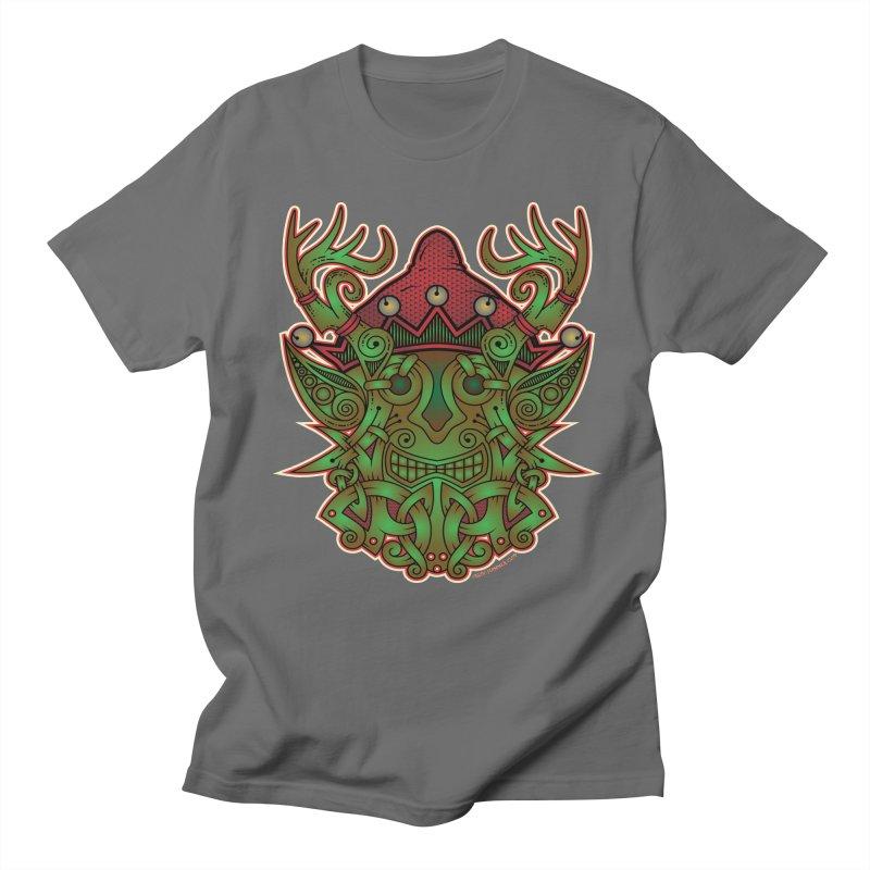 Yule Elf Viking Godmask Women's Unisex T-Shirt by Celtic Hammer Club Apparel