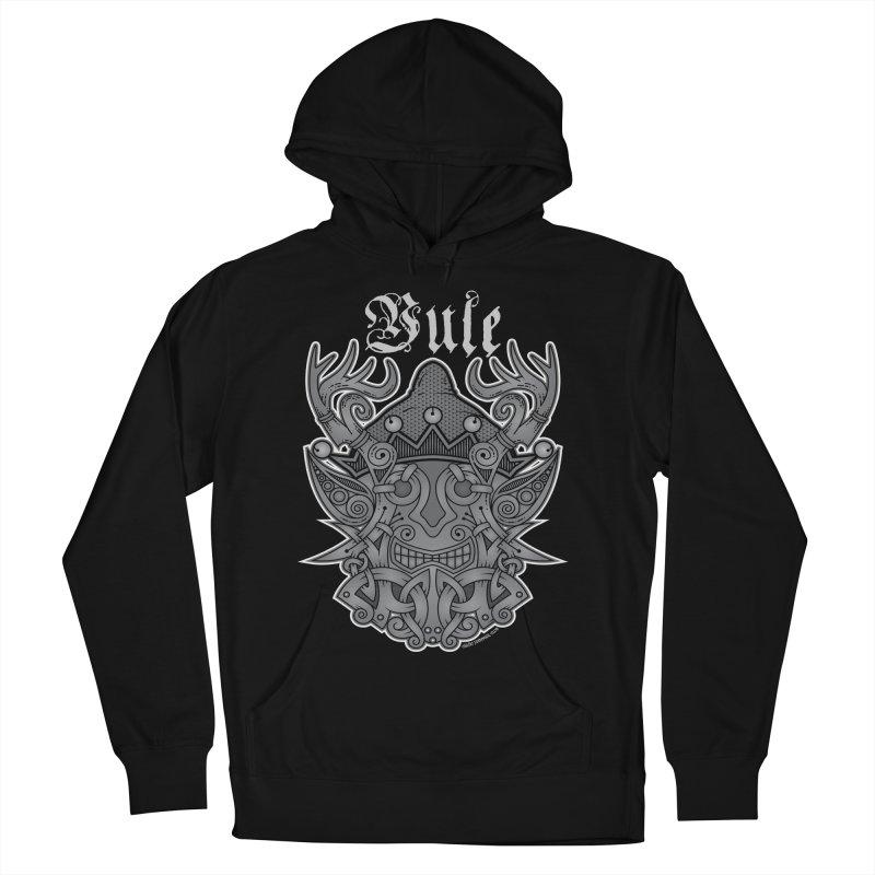 Yule Elf Viking Godmask Men's Pullover Hoody by Celtic Hammer Club Apparel