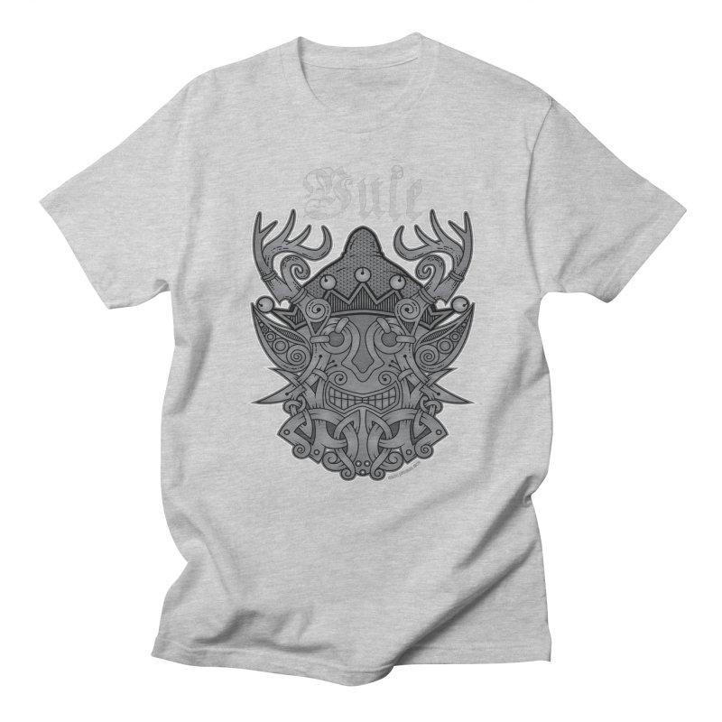 Yule Elf Viking Godmask Men's T-Shirt by Celtic Hammer Club Apparel
