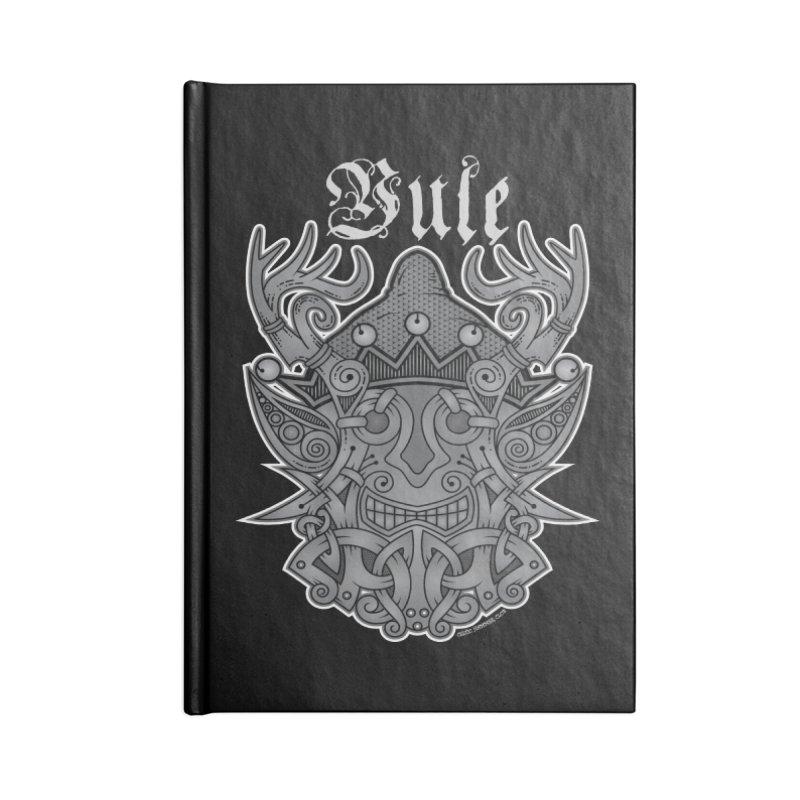Yule Elf Viking Godmask Accessories Notebook by Celtic Hammer Club Apparel