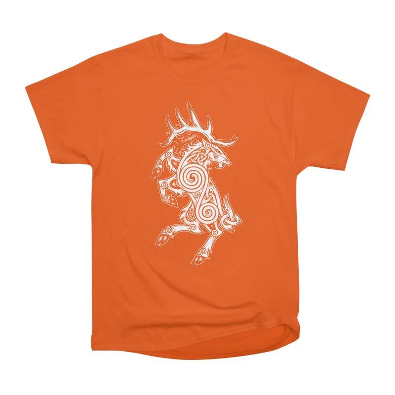 Celtic Elk Rampant Women's Classic Unisex T-Shirt by Celtic Hammer Club Apparel