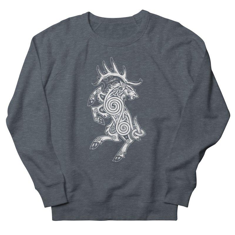 Celtic Elk Rampant Women's Sweatshirt by Celtic Hammer Club Apparel
