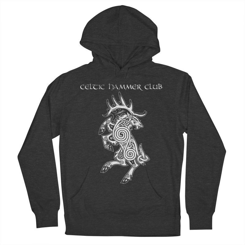 Celtic Elk Rampant Women's Pullover Hoody by Celtic Hammer Club Apparel