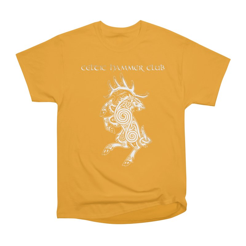Celtic Elk Rampant Men's Classic T-Shirt by Celtic Hammer Club Apparel