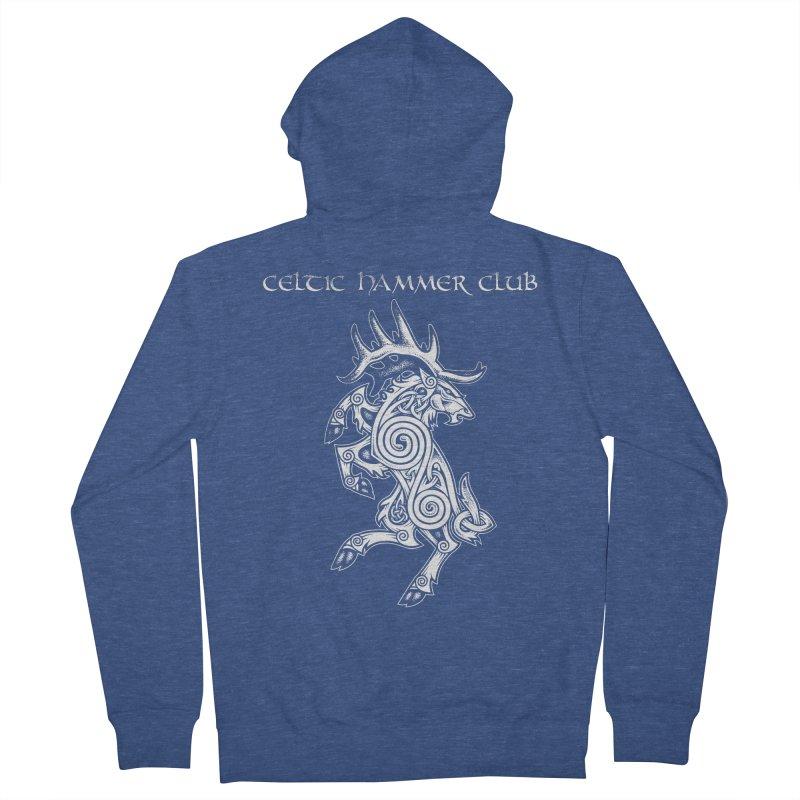 Celtic Elk Rampant Women's Zip-Up Hoody by Celtic Hammer Club Apparel