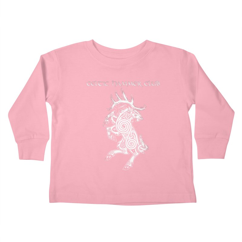 Celtic Elk Rampant Kids Toddler Longsleeve T-Shirt by Celtic Hammer Club Apparel