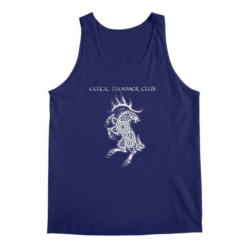 Celtic Elk Rampant Men's Regular Tank by Celtic Hammer Club Apparel