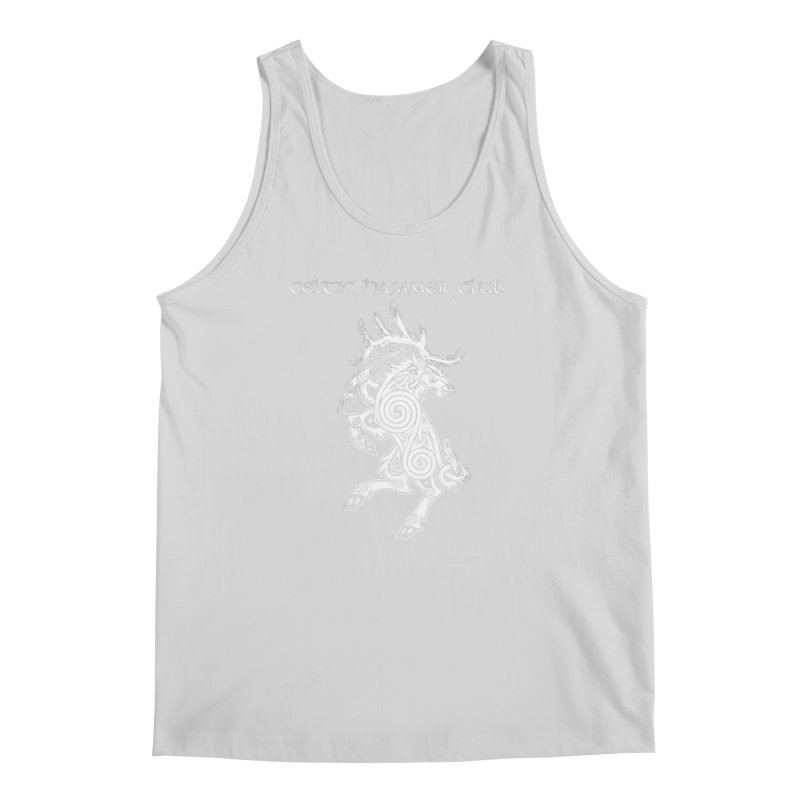 Celtic Elk Rampant Men's Tank by Celtic Hammer Club Apparel