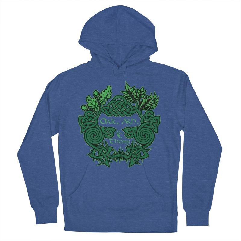 Oak, Ash & Thorn Band Logo Women's Pullover Hoody by Celtic Hammer Club Apparel