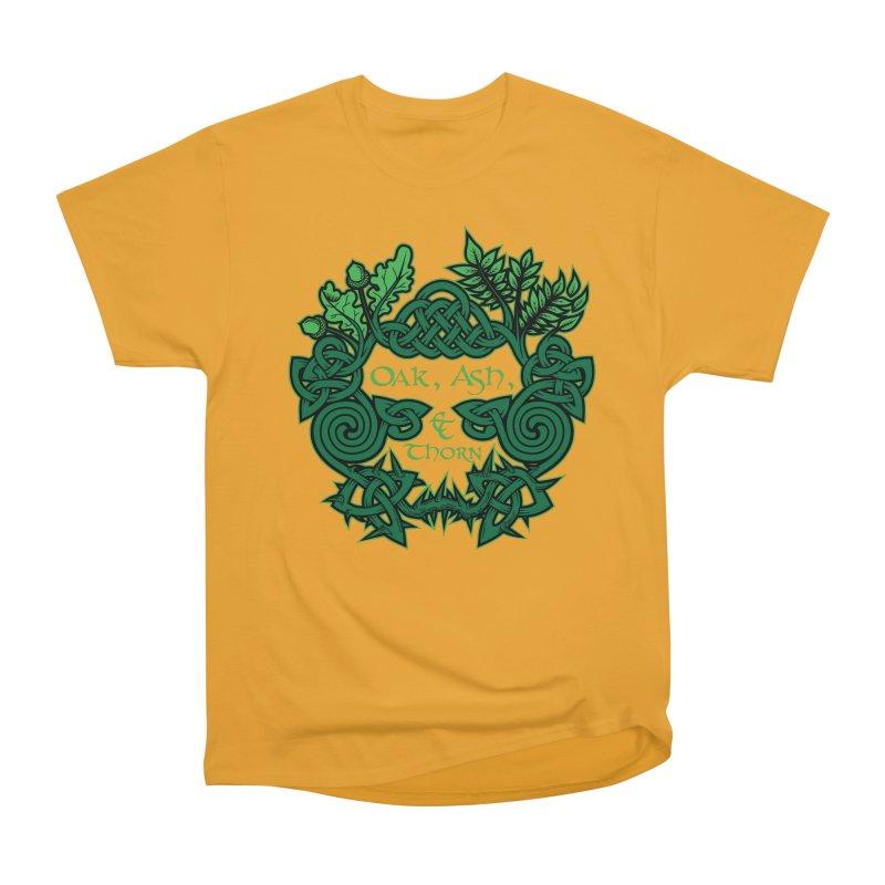 Oak, Ash & Thorn Band Logo Women's Classic Unisex T-Shirt by Celtic Hammer Club Apparel