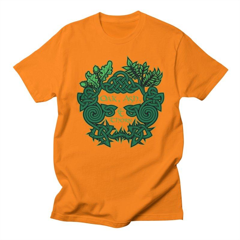 Oak, Ash & Thorn Band Logo Women's Unisex T-Shirt by Celtic Hammer Club Apparel