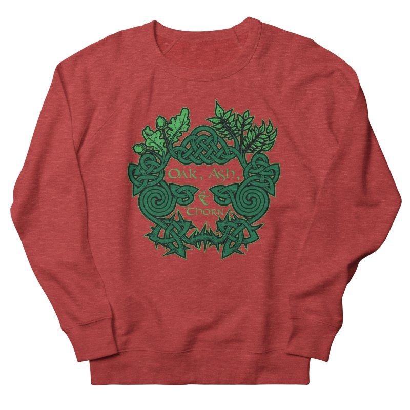 Oak, Ash & Thorn Band Logo Women's French Terry Sweatshirt by Celtic Hammer Club Apparel