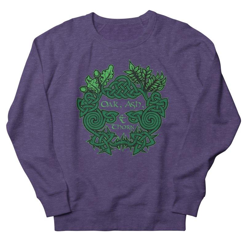 Oak, Ash & Thorn Band Logo Men's Sweatshirt by Celtic Hammer Club Apparel