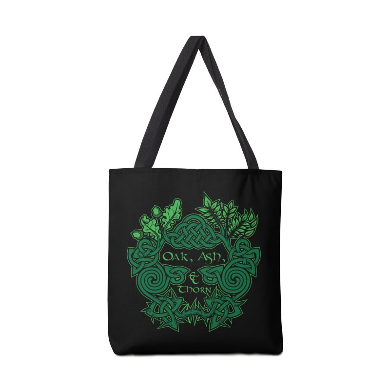 Oak, Ash & Thorn Band Logo Accessories Bag by Celtic Hammer Club Apparel