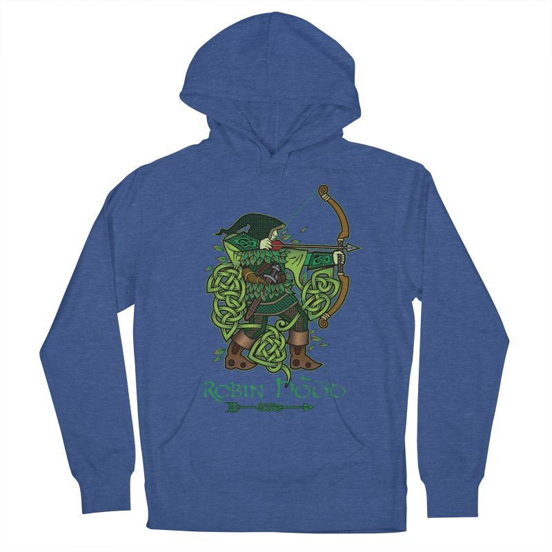 Robin Hood (Full Color Version) Women's French Terry Pullover Hoody by Celtic Hammer Club Apparel