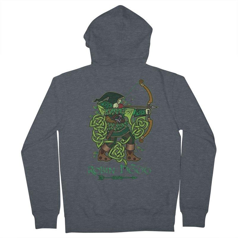 Robin Hood (Full Color Version) Women's Zip-Up Hoody by Celtic Hammer Club Apparel