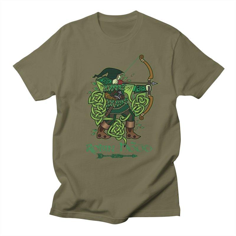 Robin Hood (Full Color Version) Women's Unisex T-Shirt by Celtic Hammer Club Apparel