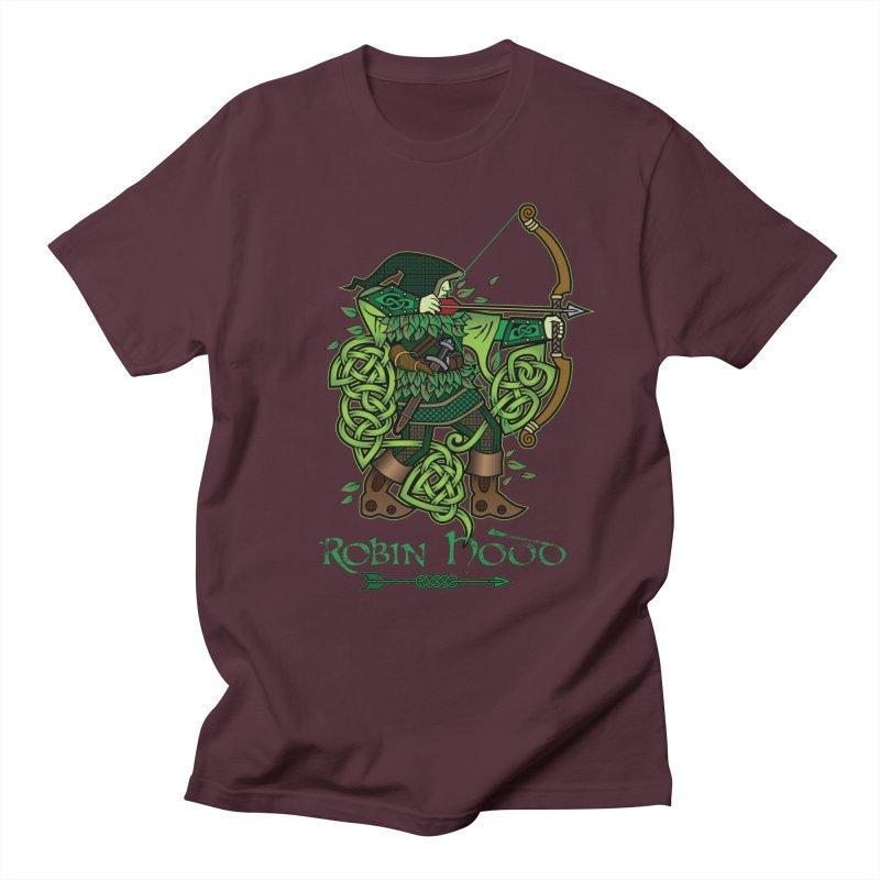 Robin Hood (Full Color Version) Women's Regular Unisex T-Shirt by Celtic Hammer Club Apparel