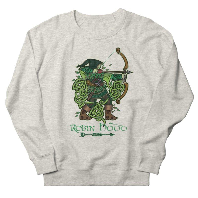 Robin Hood (Full Color Version) Men's Sweatshirt by Celtic Hammer Club Apparel