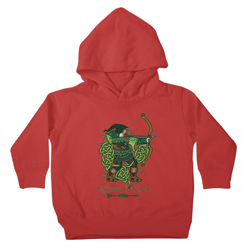 Robin Hood (Full Color Version) Kids Toddler Pullover Hoody by Celtic Hammer Club