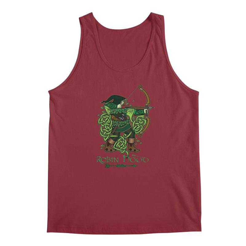 Robin Hood (Full Color Version) Men's Regular Tank by Celtic Hammer Club Apparel