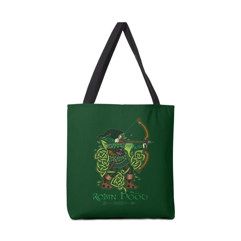 Robin Hood (Full Color Version) Accessories Bag by Celtic Hammer Club Apparel