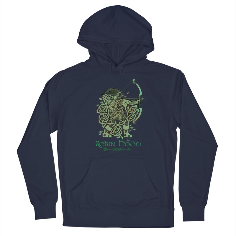 Robin Hood (Green Copper Version) Men's Pullover Hoody by Celtic Hammer Club
