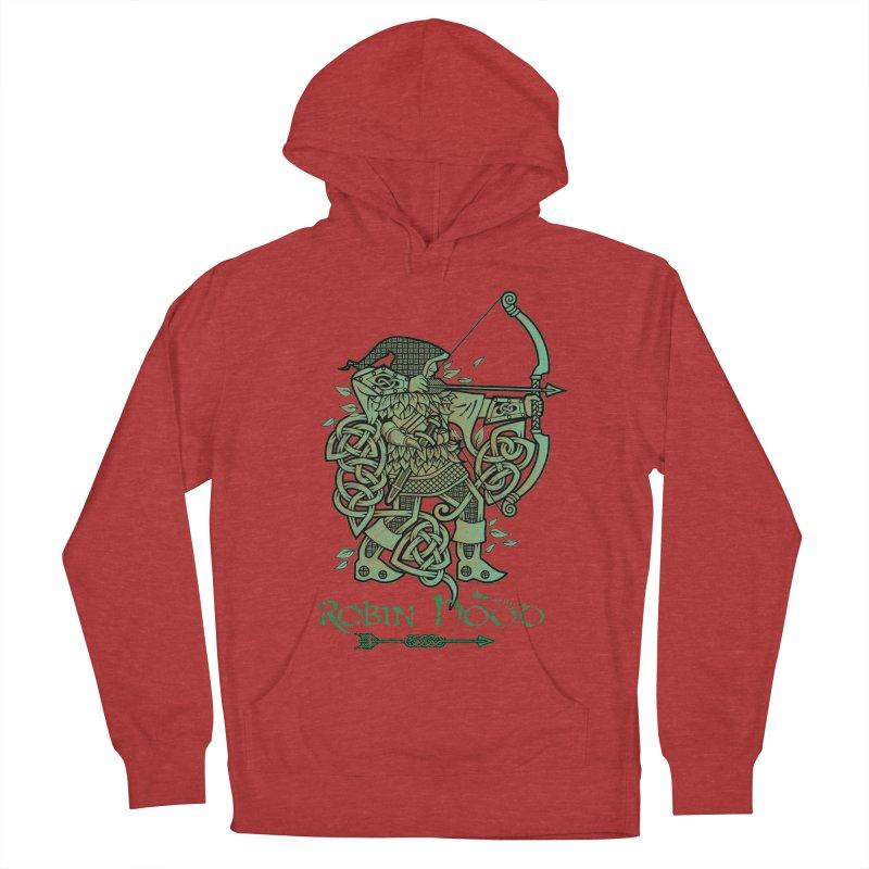 Robin Hood (Green Copper Version) Men's Pullover Hoody by Celtic Hammer Club Apparel