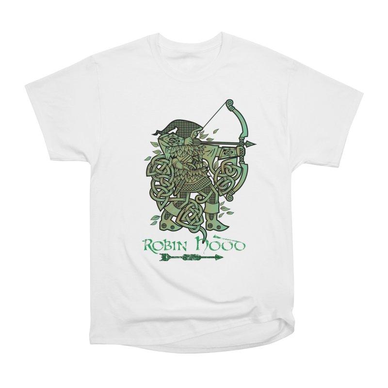 Robin Hood (Green Copper Version) Men's Classic T-Shirt by Celtic Hammer Club Apparel