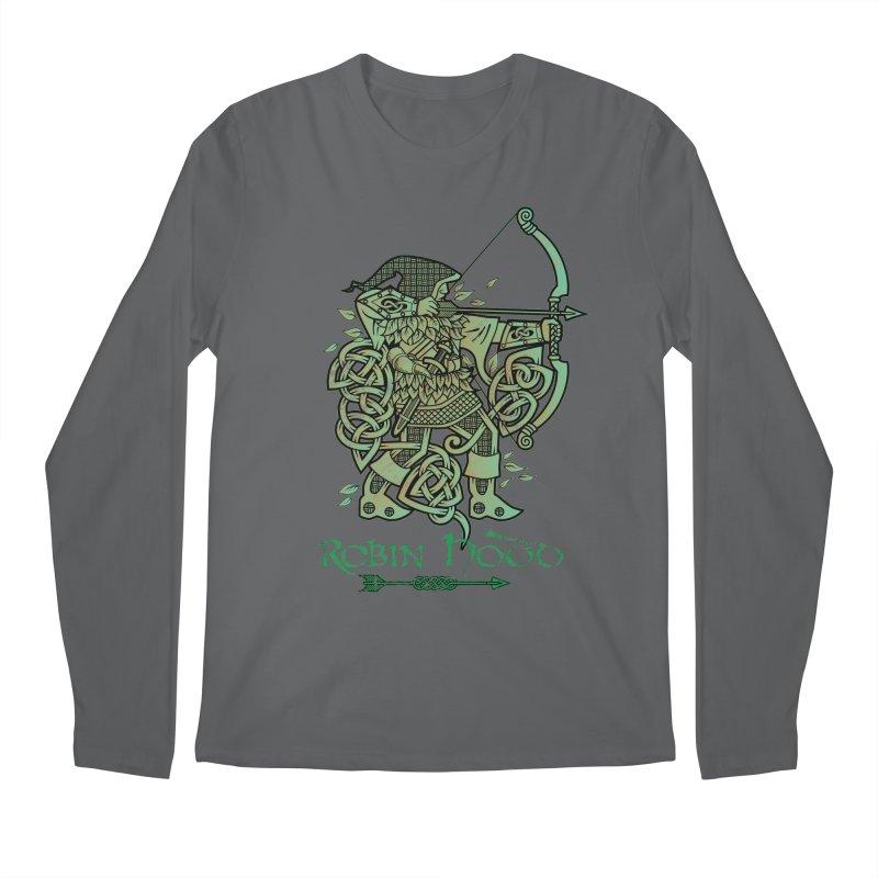 Robin Hood (Green Copper Version) Men's Longsleeve T-Shirt by Celtic Hammer Club