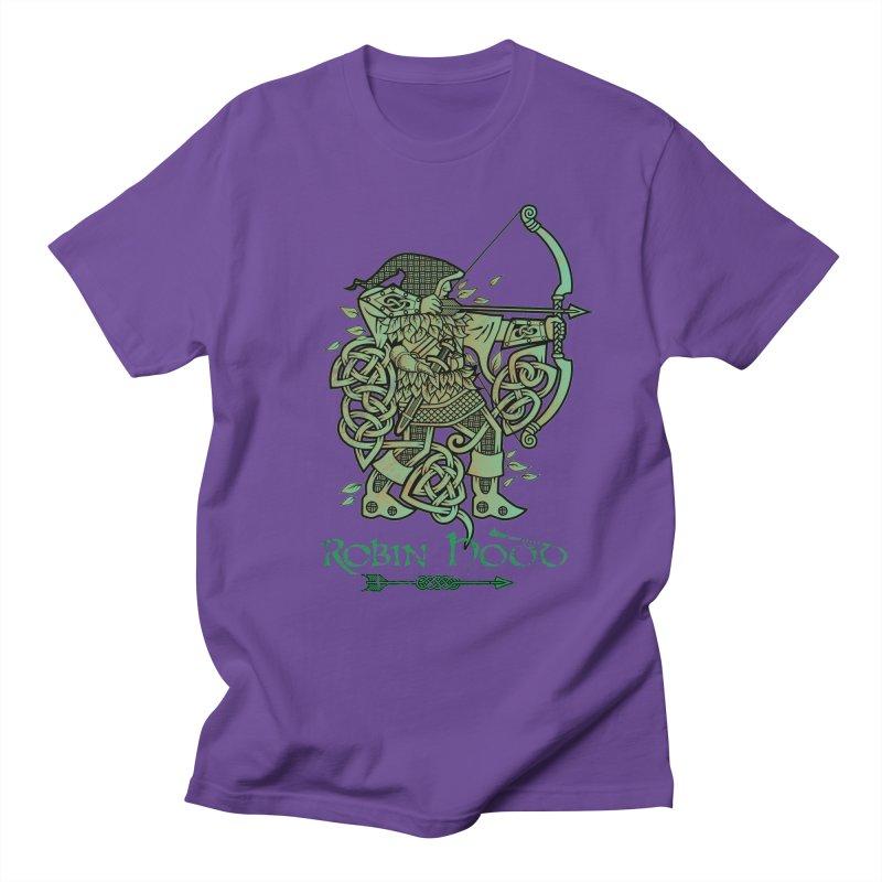 Robin Hood (Green Copper Version) Men's T-Shirt by Celtic Hammer Club