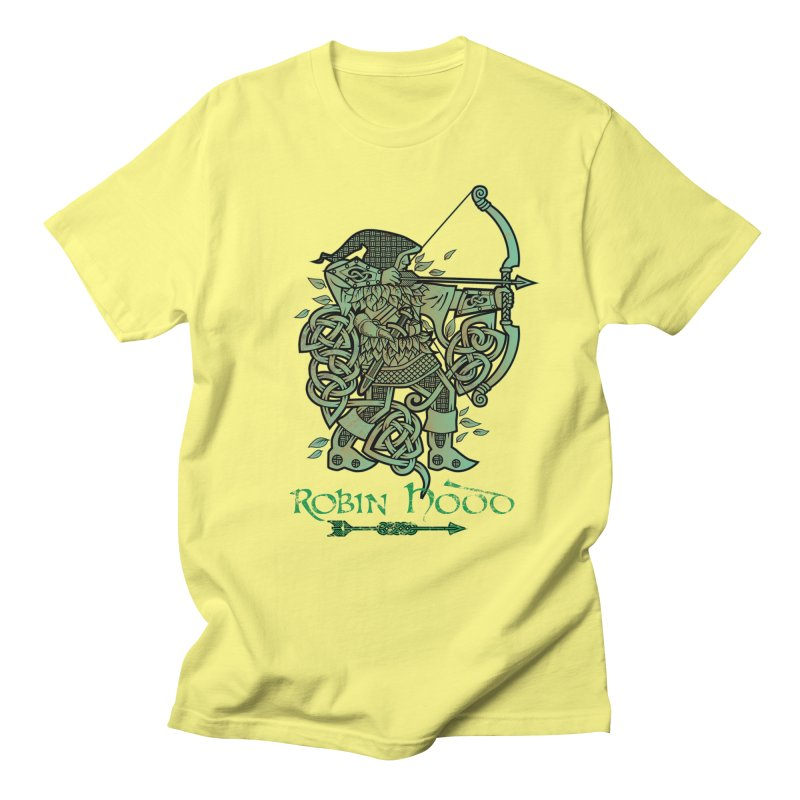 Robin Hood (Green Copper Version) Women's Regular Unisex T-Shirt by Celtic Hammer Club Apparel