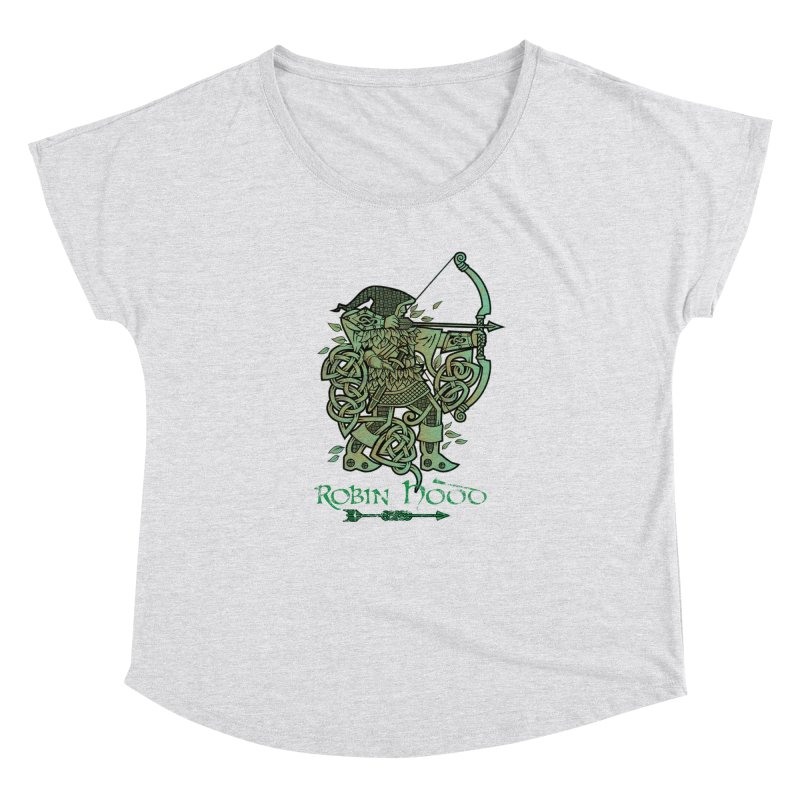 Robin Hood (Green Copper Version) Women's Dolman by Celtic Hammer Club Apparel