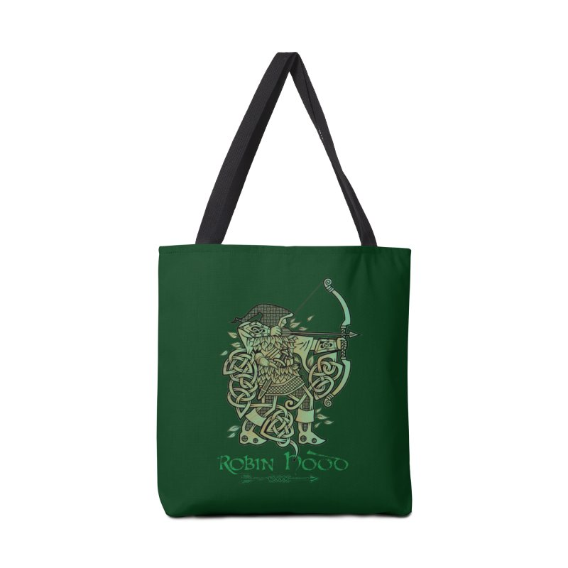 Robin Hood (Green Copper Version) Accessories Bag by Celtic Hammer Club Apparel