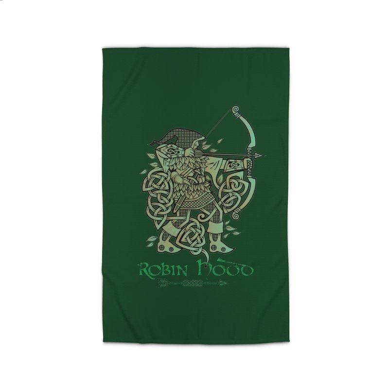 Robin Hood (Green Copper Version) Home Rug by Celtic Hammer Club Apparel