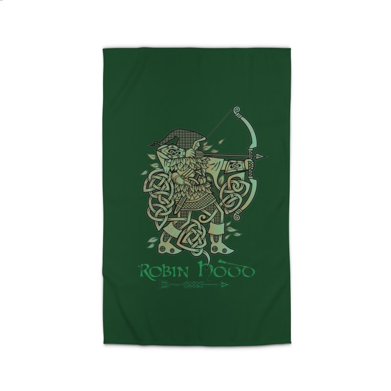 Robin Hood (Green Copper Version) Home Rug by Celtic Hammer Club