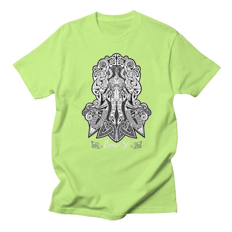 Banshee (bean sí) Men's T-Shirt by Celtic Hammer Club