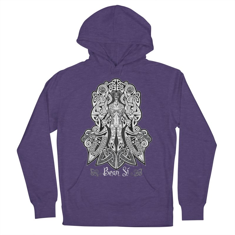 Banshee (bean sí) Women's French Terry Pullover Hoody by Celtic Hammer Club