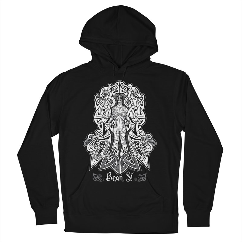 Banshee (bean sí) Women's French Terry Pullover Hoody by Celtic Hammer Club Apparel