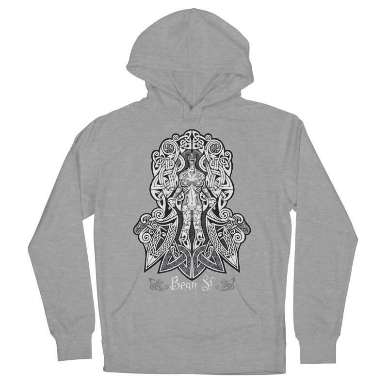 Banshee (bean sí) Men's French Terry Pullover Hoody by Celtic Hammer Club