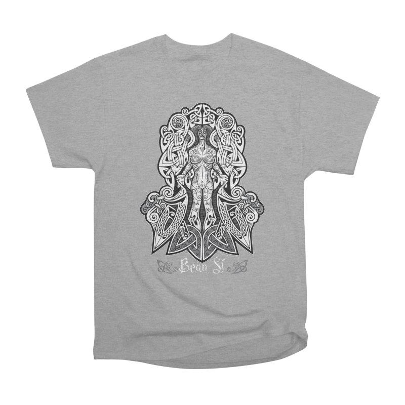 Banshee (bean sí) Women's Heavyweight Unisex T-Shirt by Celtic Hammer Club Apparel