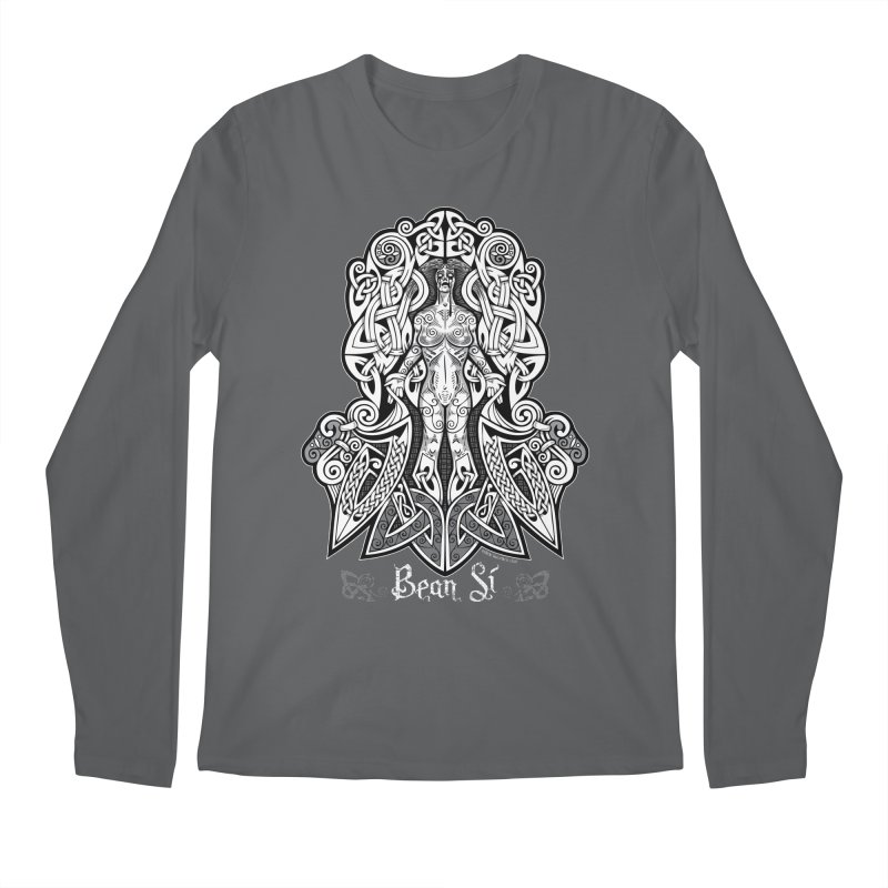 Banshee (bean sí) Men's Longsleeve T-Shirt by Celtic Hammer Club