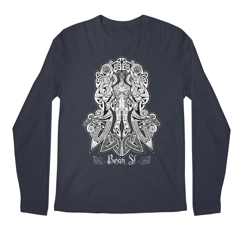 Banshee (bean sí) Men's Regular Longsleeve T-Shirt by Celtic Hammer Club