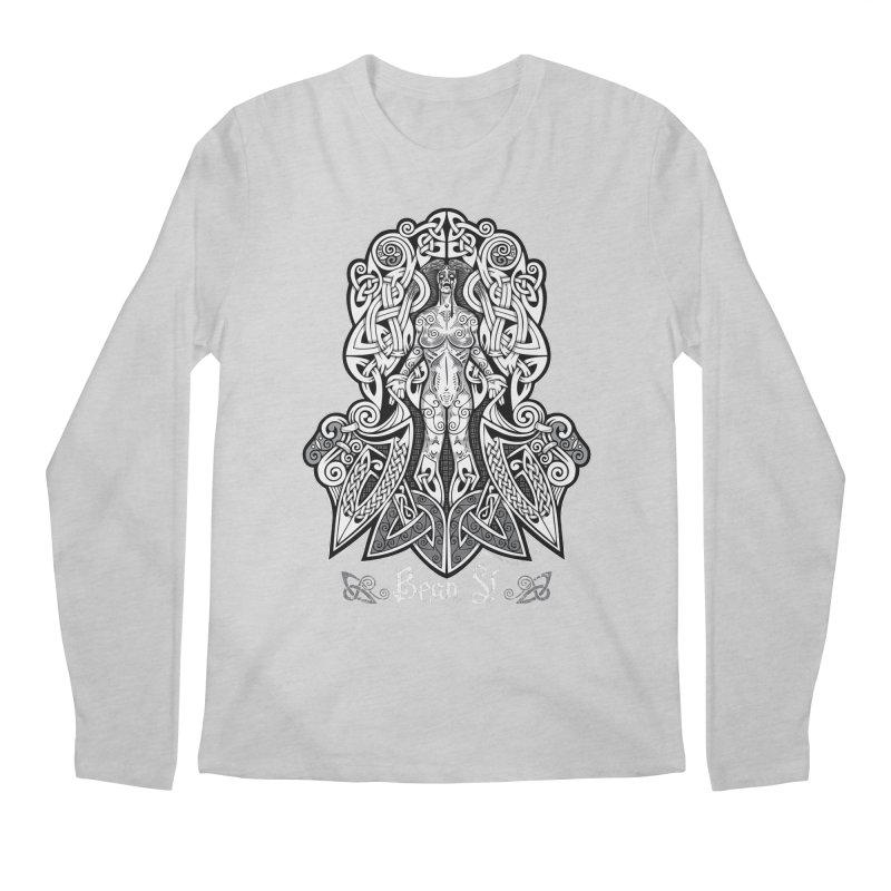 Banshee (bean sí) Men's Longsleeve T-Shirt by Celtic Hammer Club Apparel