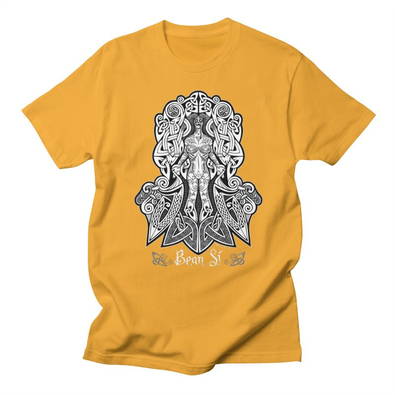 Banshee (bean sí) Women's Regular Unisex T-Shirt by Celtic Hammer Club Apparel