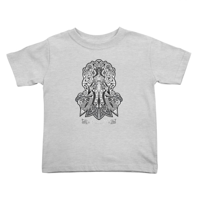 Banshee (bean sí) Kids Toddler T-Shirt by Celtic Hammer Club Apparel