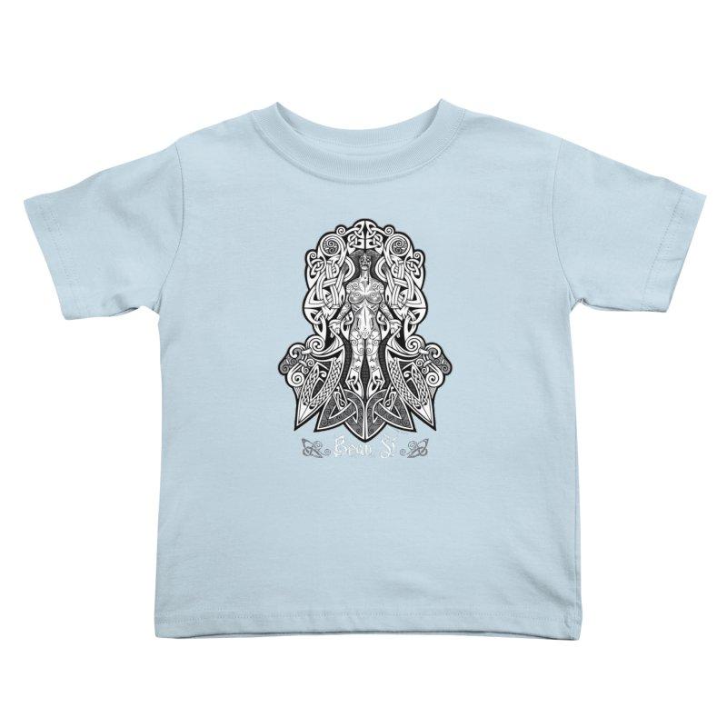 Banshee (bean sí) Kids Toddler T-Shirt by Celtic Hammer Club
