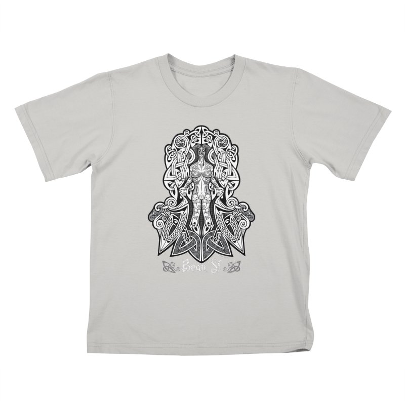 Banshee (bean sí) Kids T-Shirt by Celtic Hammer Club Apparel