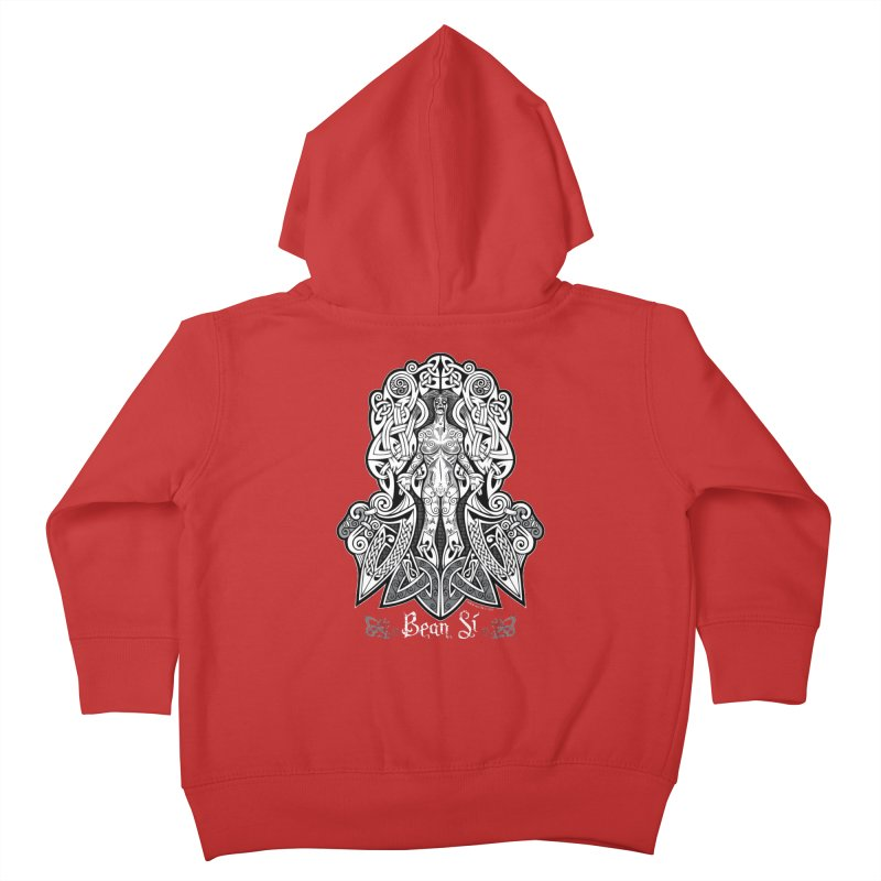 Banshee (bean sí) Kids Toddler Zip-Up Hoody by Celtic Hammer Club