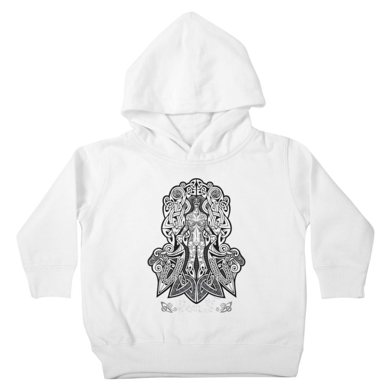 Banshee (bean sí) Kids Toddler Pullover Hoody by Celtic Hammer Club
